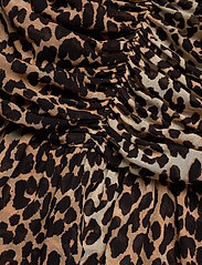 Ganni - Printed Georgette - korte nederdele - leopard - 4