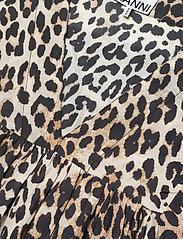 Ganni - Cotton Silk - midi kjoler - leopard - 2
