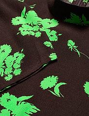 Ganni - Printed Crepe - summer dresses - mole - 2
