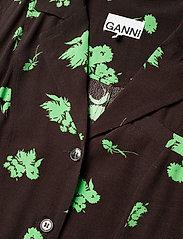 Ganni - Printed Crepe - alledaagse jurken - mole - 3