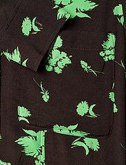 Ganni - Printed Crepe - alledaagse jurken - mole - 4