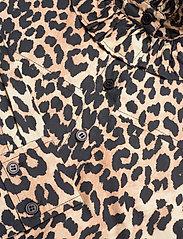 Ganni - Printed Cotton Poplin - sommerkjoler - leopard - 2