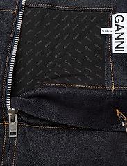 Ganni - Raw Padded Denim - jeansröcke - indigo - 3