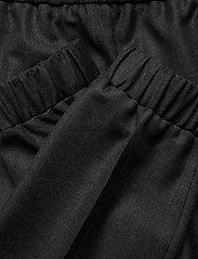 Ganni - Wool Suiting - straight leg trousers - phantom - 4