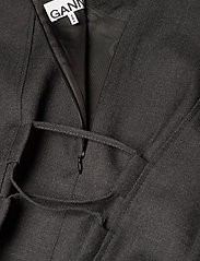 Ganni - Wool Suiting - summer dresses - phantom - 3