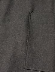 Ganni - Wool Suiting - summer dresses - phantom - 5