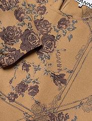 Ganni - Brocade Jacquard - summer dresses - tiger's eye - 3
