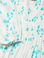 Ganni - Printed Crepe - summer dresses - egret - 2