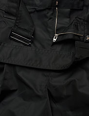 Ganni - Outerwear Nylon - paper bag shorts - black - 3