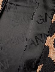 Ganni - Linen Canvas - maxi leopard - 4