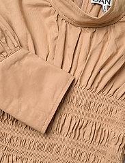 Ganni - Cotton Canvas - sommerkjoler - tiger's eye - 2