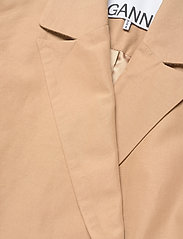 Ganni - Cotton Canvas - oversized blazere - tiger's eye - 2