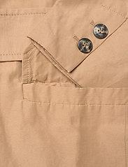Ganni - Cotton Canvas - oversized blazere - tiger's eye - 3