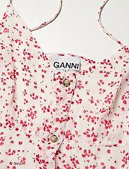 Ganni - Printed Georgette - sommerkjoler - egret - 2