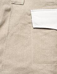 Ganni - Linen - korte nederdele - nature - 4
