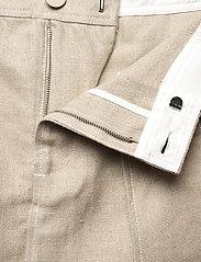 Ganni - Linen - korte nederdele - nature - 5