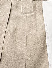 Ganni - Linen - korte nederdele - nature - 6