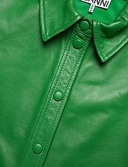 Ganni - Shirt - langermede skjorter - kelly green - 2