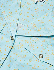 Ganni - Printed Cotton Poplin - denim shirts - corydalis blue - 2