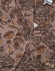 Ganni - Printed Cotton Poplin - kortærmede skjorter - fossil - 2