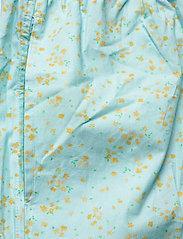 Ganni - Printed Cotton Poplin - casual shorts - corydalis blue - 3