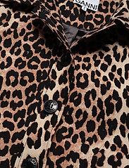 Ganni - Linen Canvas - lette jakker - leopard - 2