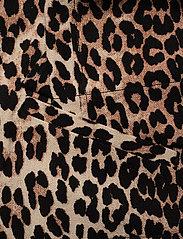 Ganni - Linen Canvas - lette jakker - leopard - 3