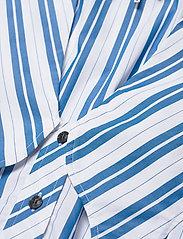 Ganni - Stripe Cotton - Ærmeløse bluser - daphne - 2