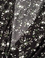 Ganni - Printed Crepe - summer dresses - phantom - 2