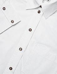 Ganni - Cotton Poplin - langærmede skjorter - bright white - 2