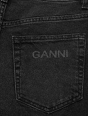 Ganni - Comfort Stretch - denimshorts - black - 4