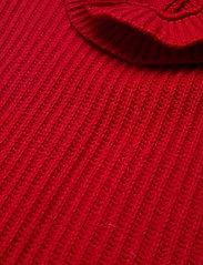 Ganni - Rib Knit - strikveste - flame scarlet - 2