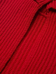 Ganni - Rib Knit - strikveste - flame scarlet - 3