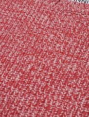 Ganni - Cashmere Mix Knit - strikveste - flame scarlet - 2
