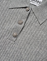 Ganni - Wool Mix Knit - trøjer - paloma melange - 2