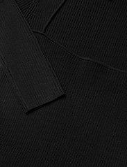 Ganni - Melange Knit - sommerkjoler - black - 2