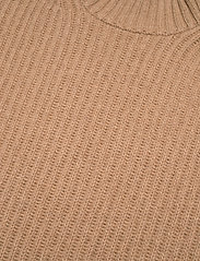 Ganni - Rib Knit - strikveste - camel - 2
