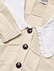 Ganni - Cotton Rope Knit - cardigans - brazilian sand - 2