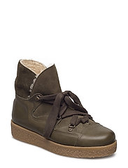 Masha Texas Boots - DARK OLIVE