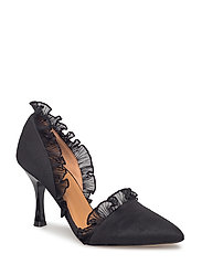 Flora Pumps - Black