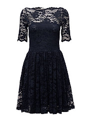 Flynn Lace Dress - Total Eclipse