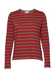 Striped Cotton Jersey - SAMBA