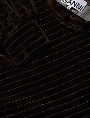 Ganni - Velvet Lurex - sweatshirts - mole - 2