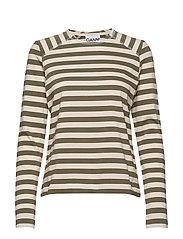 Striped Cotton Jersey - KALAMATA