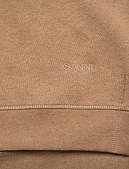 Ganni - Isoli - sweatshirts & hoodies - tannin - 3