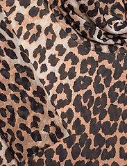 Ganni - Printed Mesh - langærmede bluser - leopard - 2