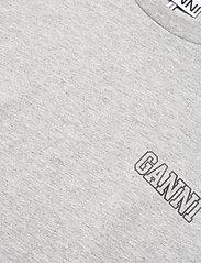 Ganni - Thin Software Jersey - t-shirts - paloma melange - 2