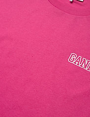 Ganni - Thin Software Jersey - t-shirts - shocking pink - 2
