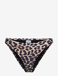 Printed Polyester Swimwear - LEOPARD