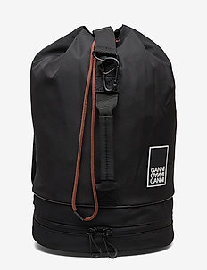 Tech Fabric Bags - BLACK